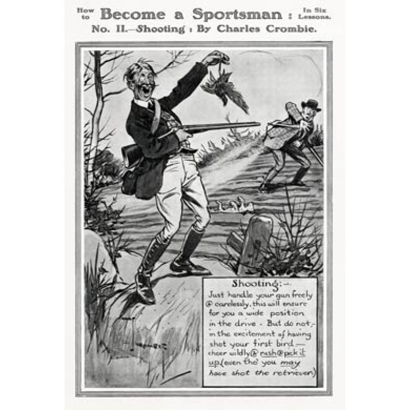 Become a Sportsman, Shooting