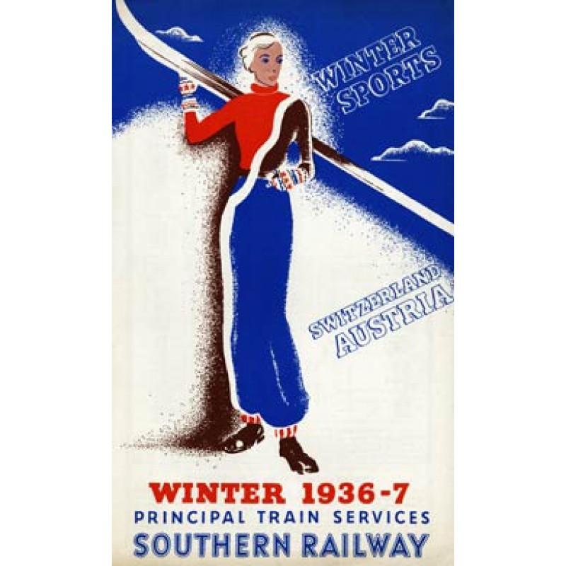 Southern Railway, Winter Sport, 1936
