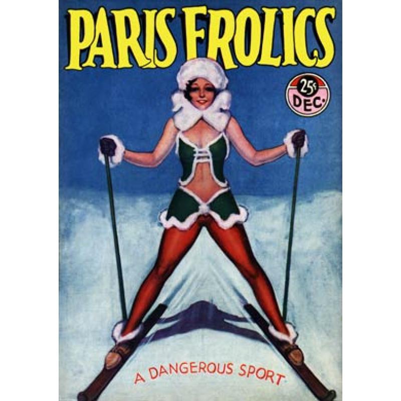 Paris Frolics Skiing 1931
