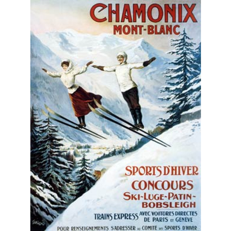 Chamonix, Sports DHiver, 1904