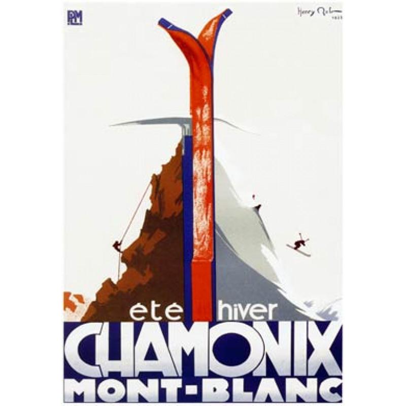 Chamonix, Ete Hiver, 1933