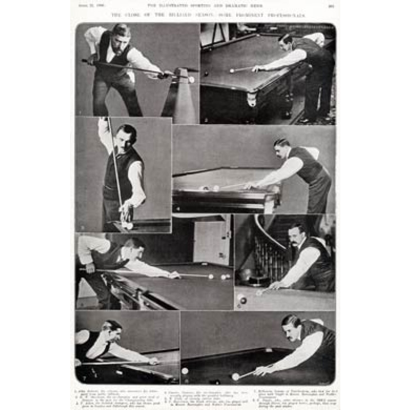 Edwardian Billiards Professionals