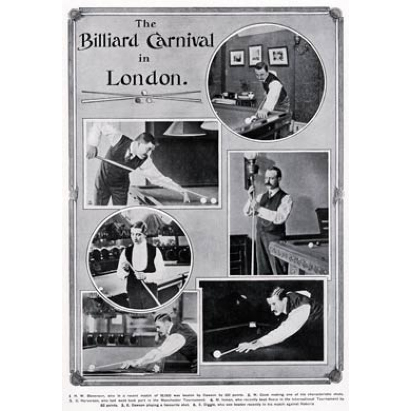 Billiard Carnival in London