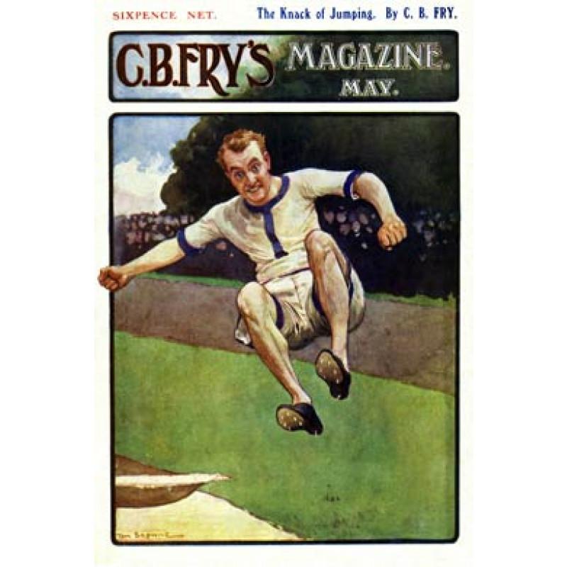 Athletics, Fry's Magazine, 1905