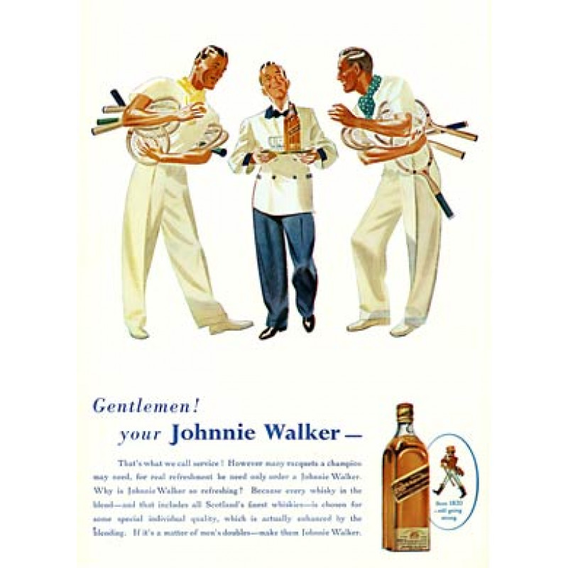 Johnnie Walker Tennis, 1939