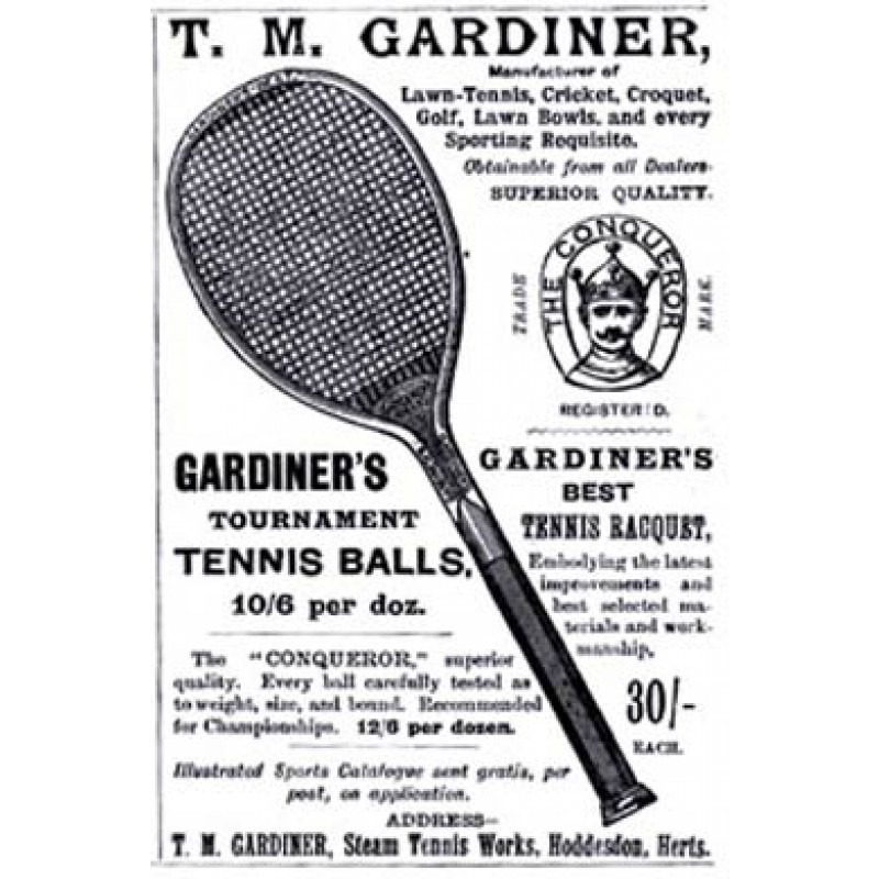 Gardiner Tennis, 1894