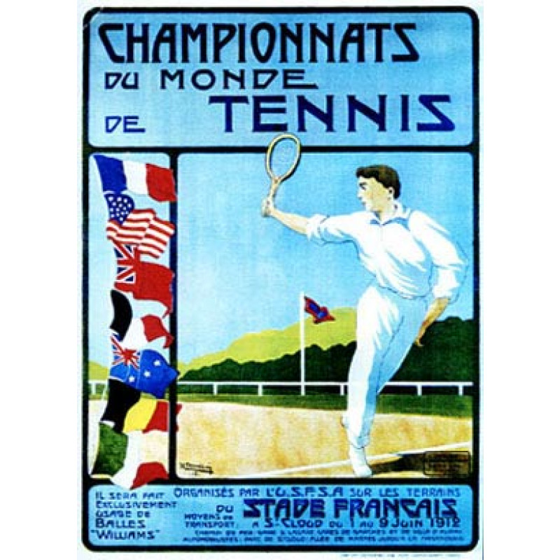 French Championship Tennis, 1912