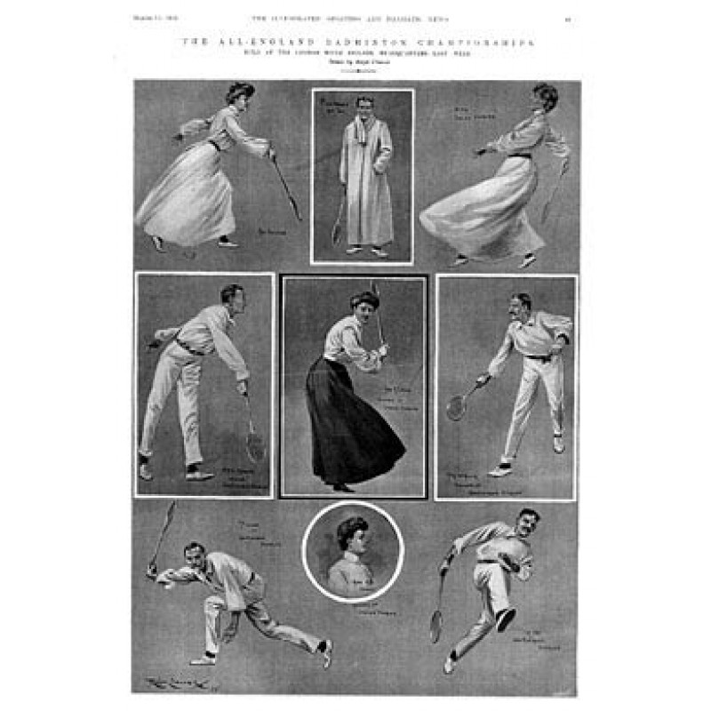 All England Badminton, 1905
