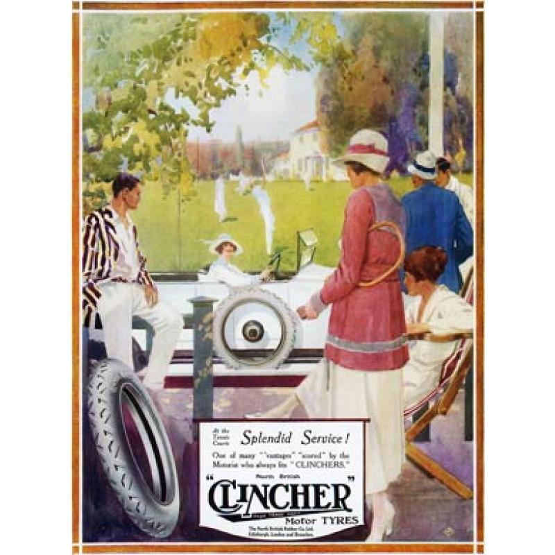 Clincher Tyres, Tennis, 1919