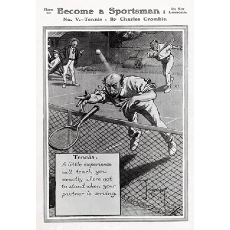 Become a Sportsman, Tennis