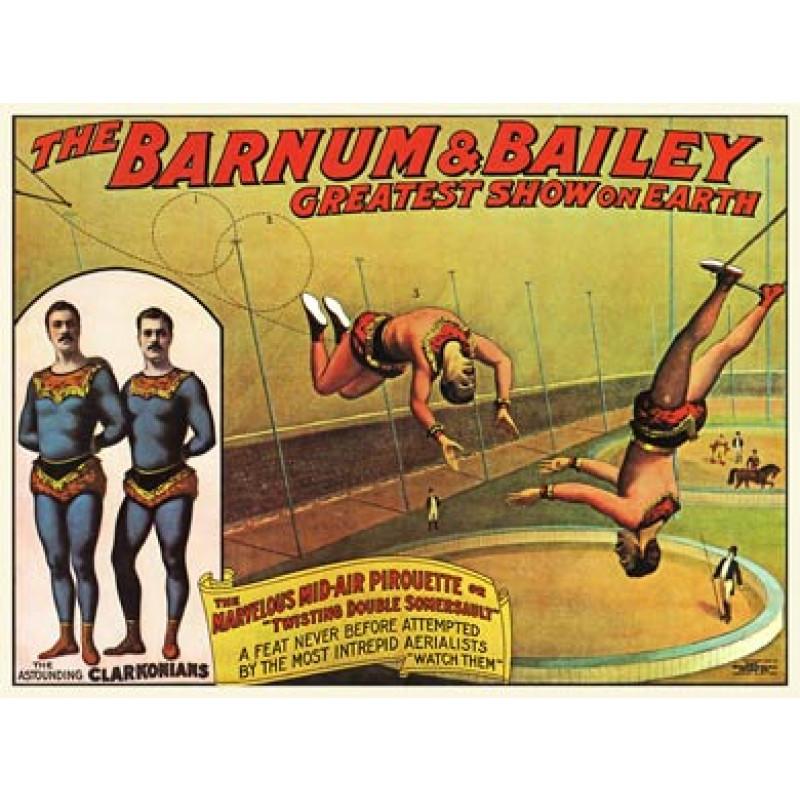 Barnum and Bailey, Clarkonians, 1904