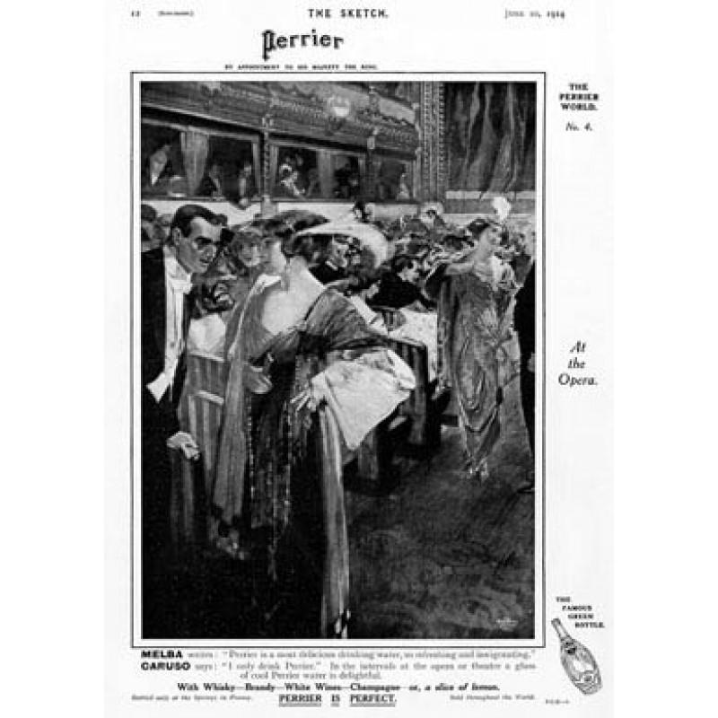 Perrier Opera Advertisement