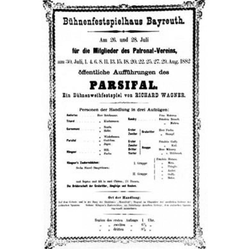 Parsifal Premiere 1882