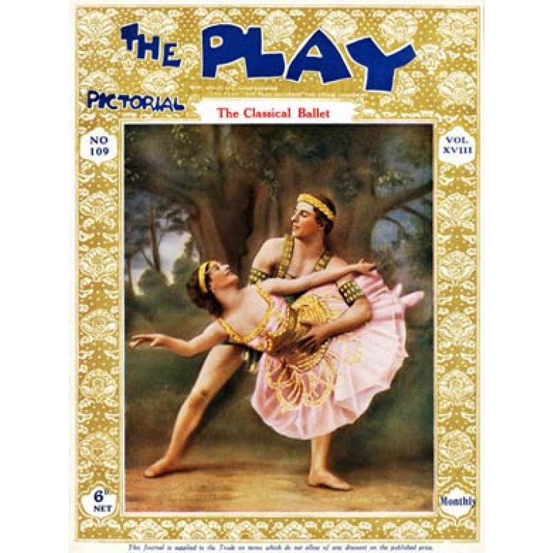 Play Pictorial, Pavlova and Mordkin