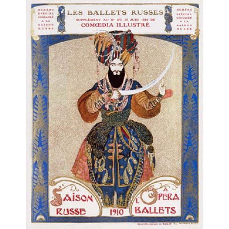 Leon Bakst, Ballets Russes, 1910