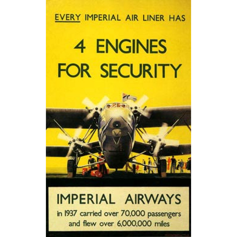 Imperial Airways, 4 Engines