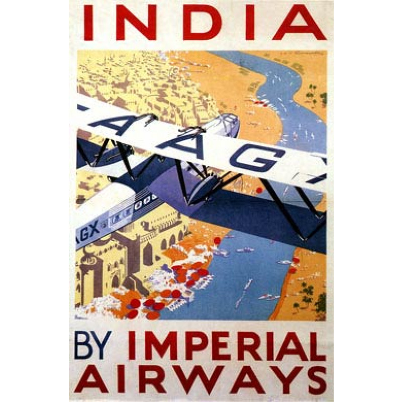 Imperial Airways, India, 1935