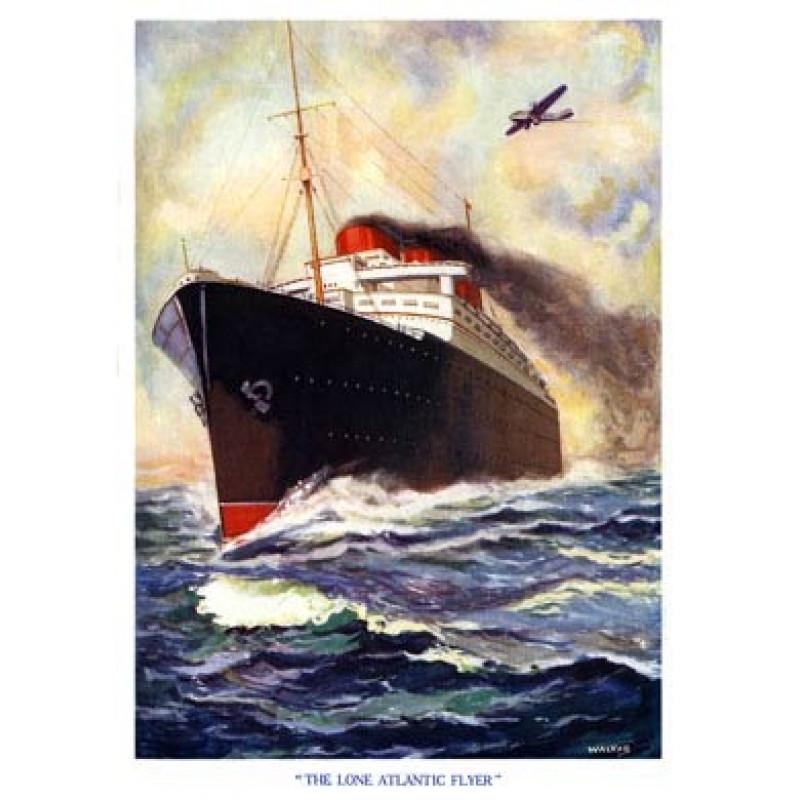 Lone Atlantic Flyer 1936