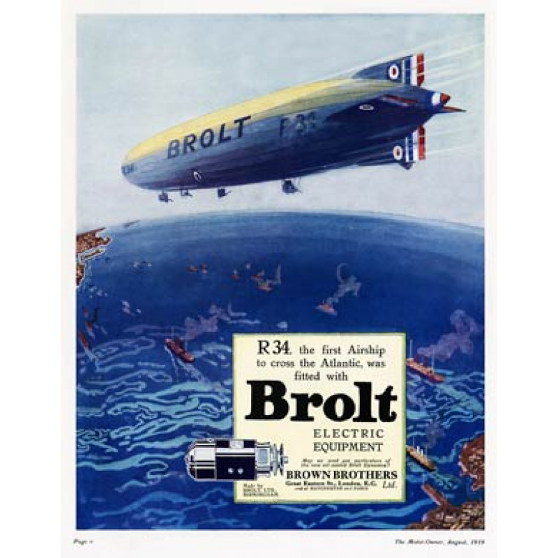 Brolt, R34 Airship