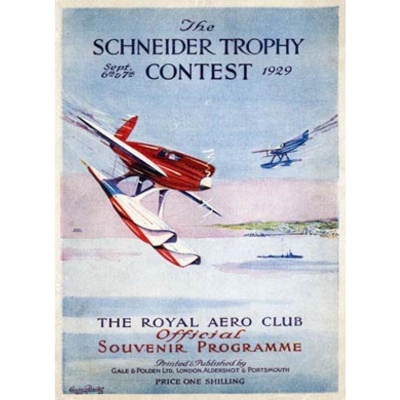 Schneider Trophy, 1929
