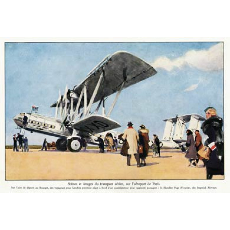Handley Page, Paris
