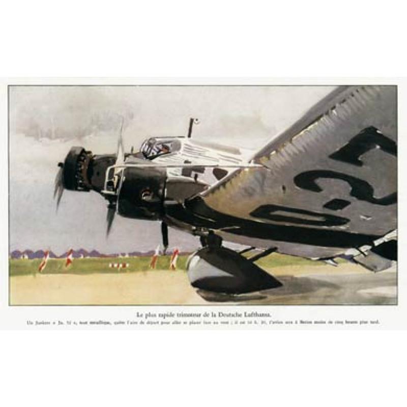 Lufthansa, Junkers 52