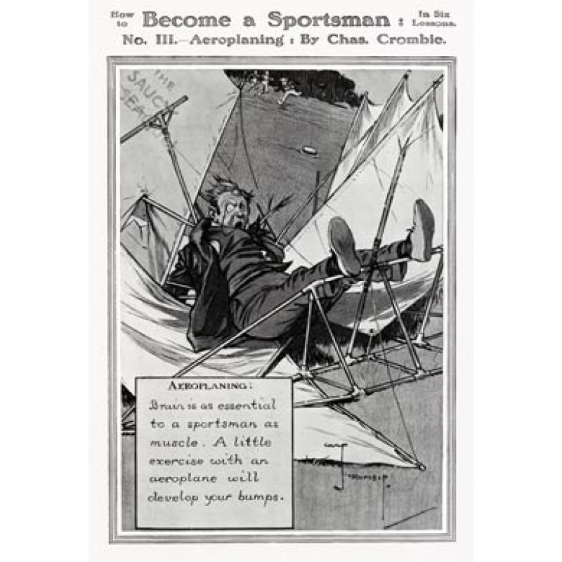 Become a Sportsman, Aeroplaning
