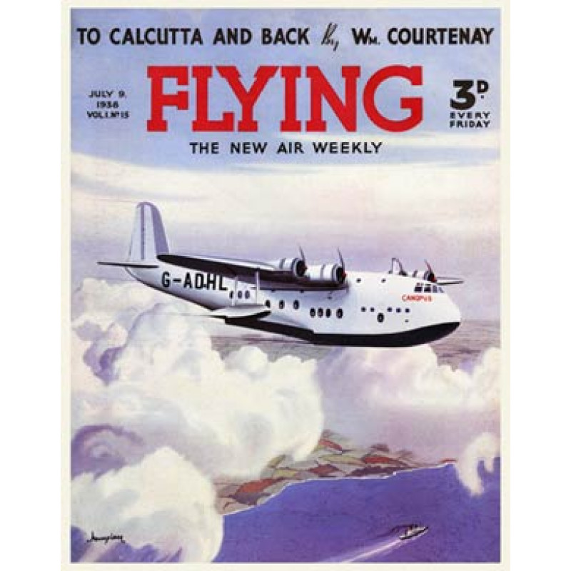 Flying, Imperial Flying Boat, Canopus