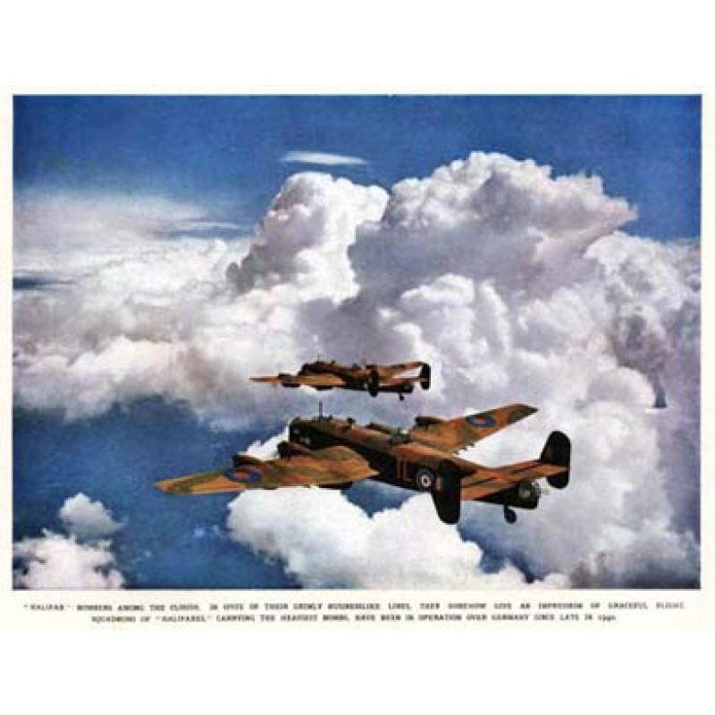 Halifax Bombers, 1942