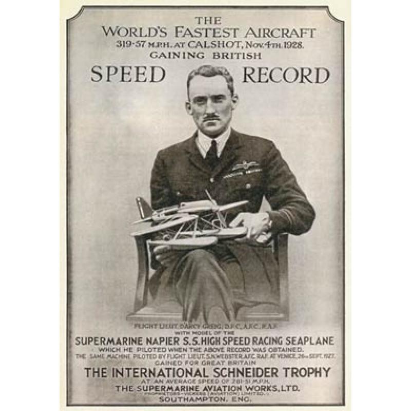 Supermarine S5 Speed Record, 1928