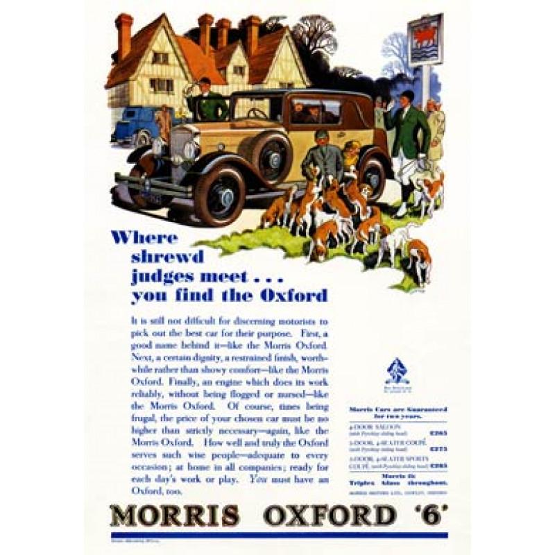 Morris Oxford 6, 1932