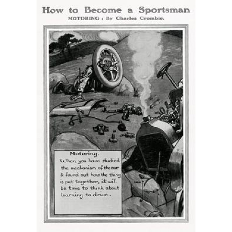 Become a Sportsman, Motoring