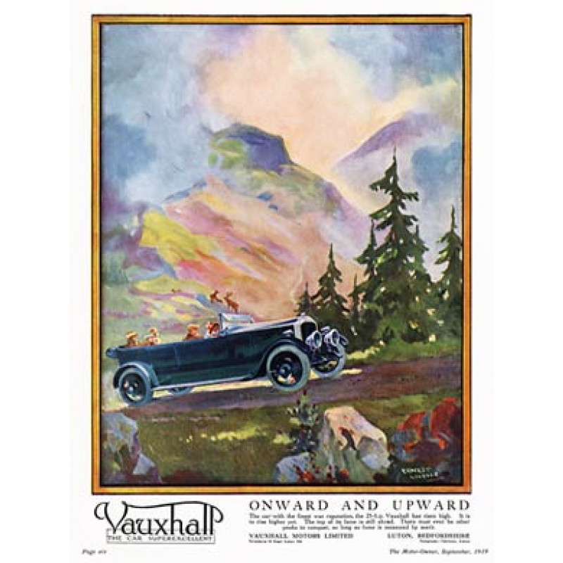 Vauxhall, Onward and Upward, 1919