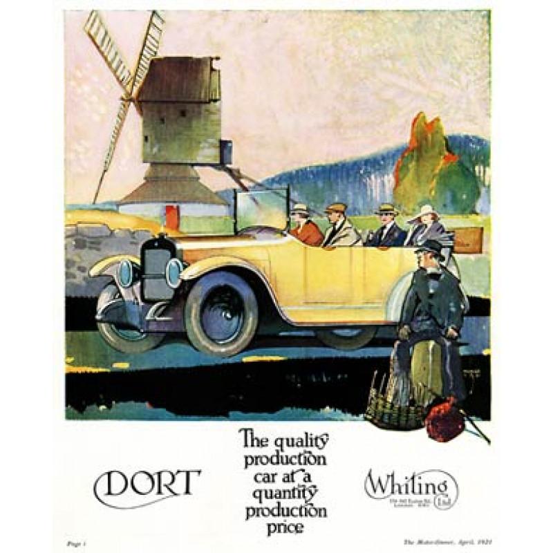 Dort Cars, 1921