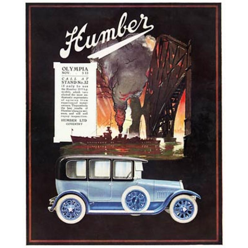 Humber Cars, 1920