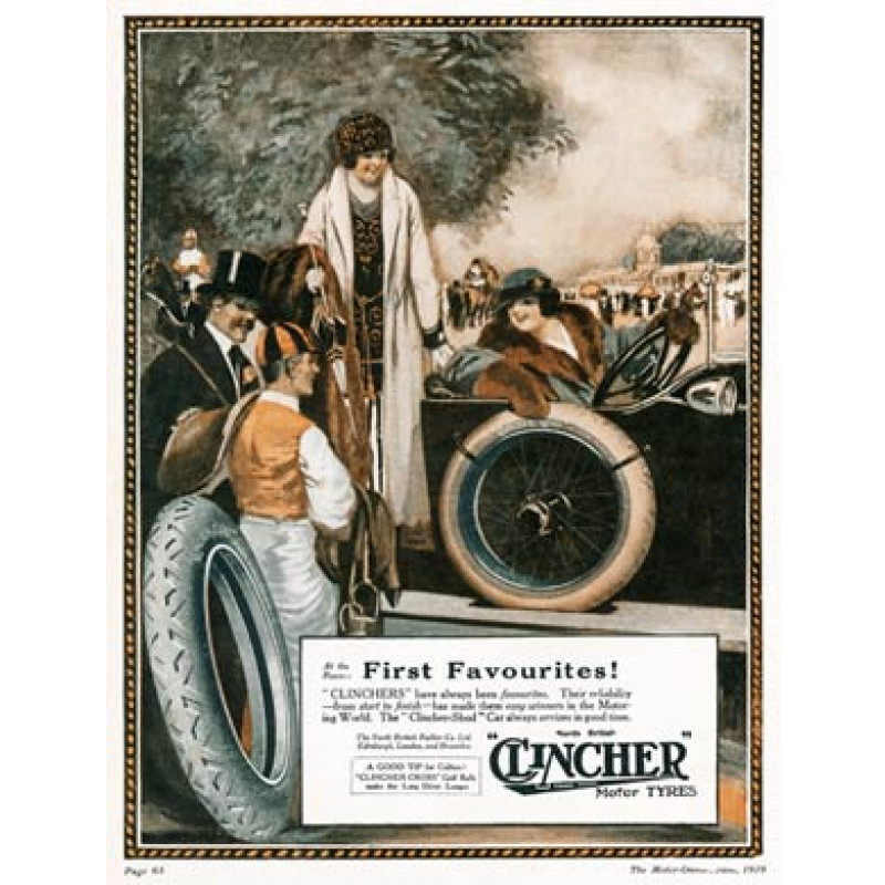 Clincher Tyres, First Favourites, 1919