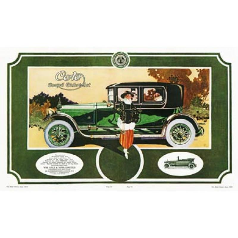 Cole Coupe Cabriolet, 1919