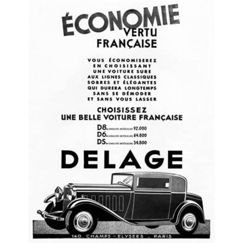Delage, 1932