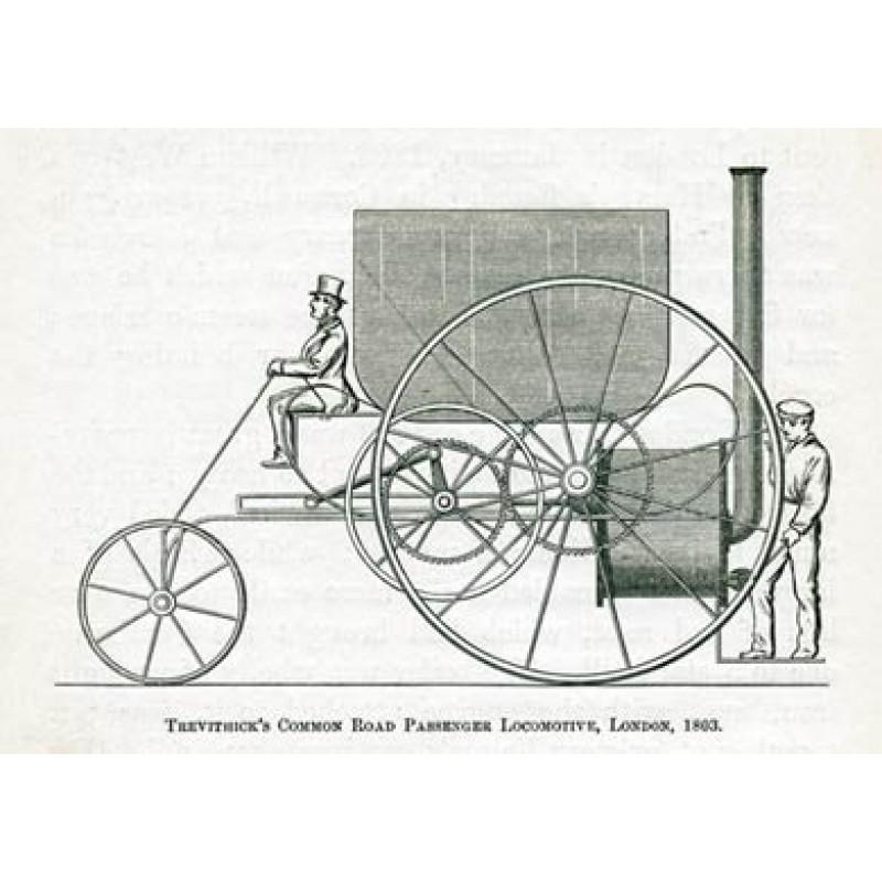 Trevithick Road Passenger Locomotive, 1803