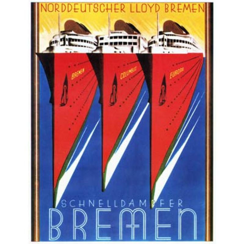 Schnelldampfer Bremen