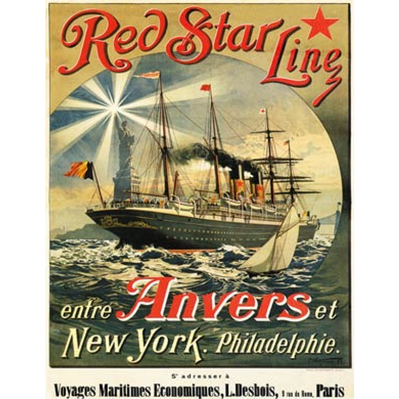 Red Star Line, 1893