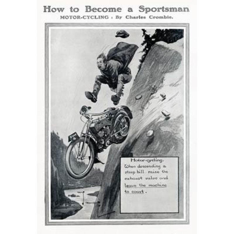 Become a Sportsman, Motor Cycling