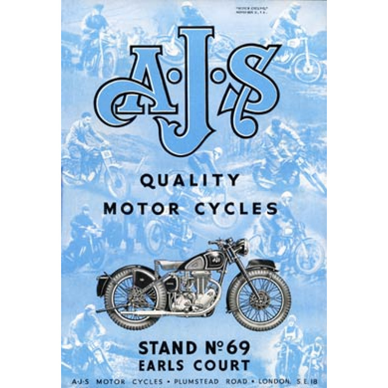 AJS Motor Cycles, 1948