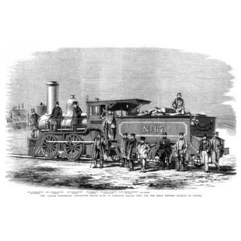 George Stephenson Loco, Canada, 1860