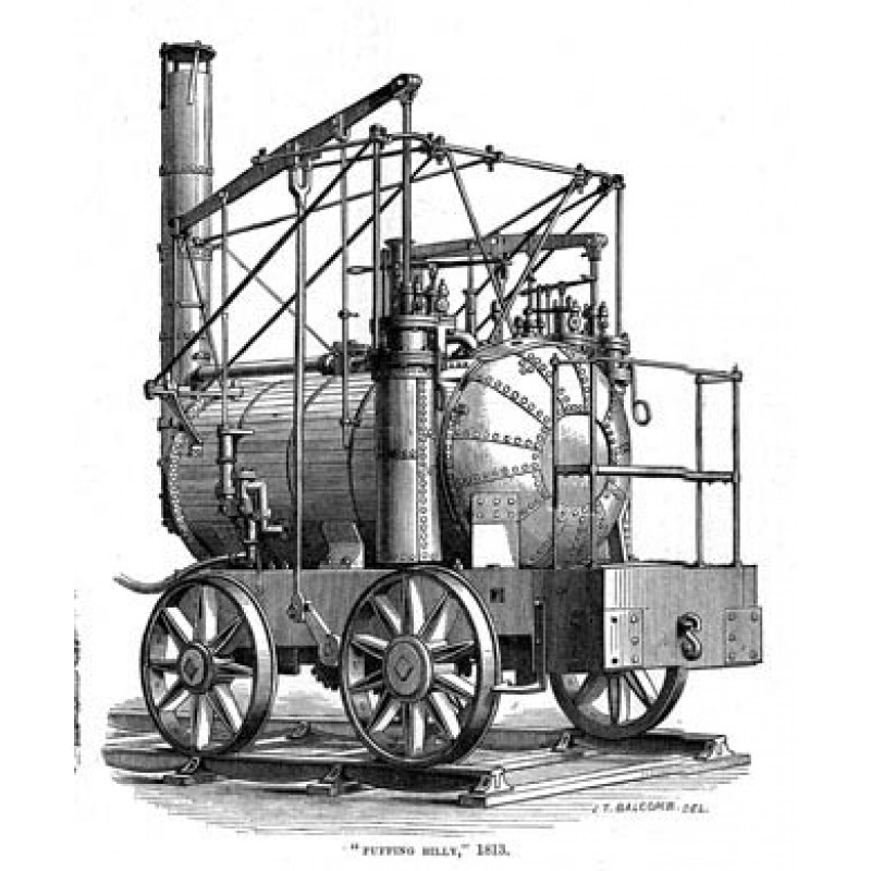 Puffing Billy, 1813
