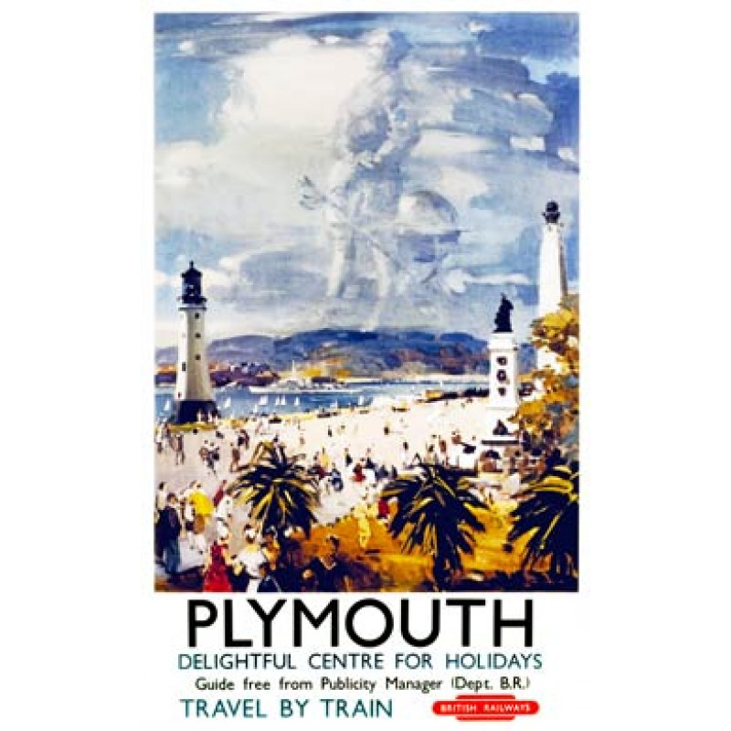 Plymouth Railway Poster