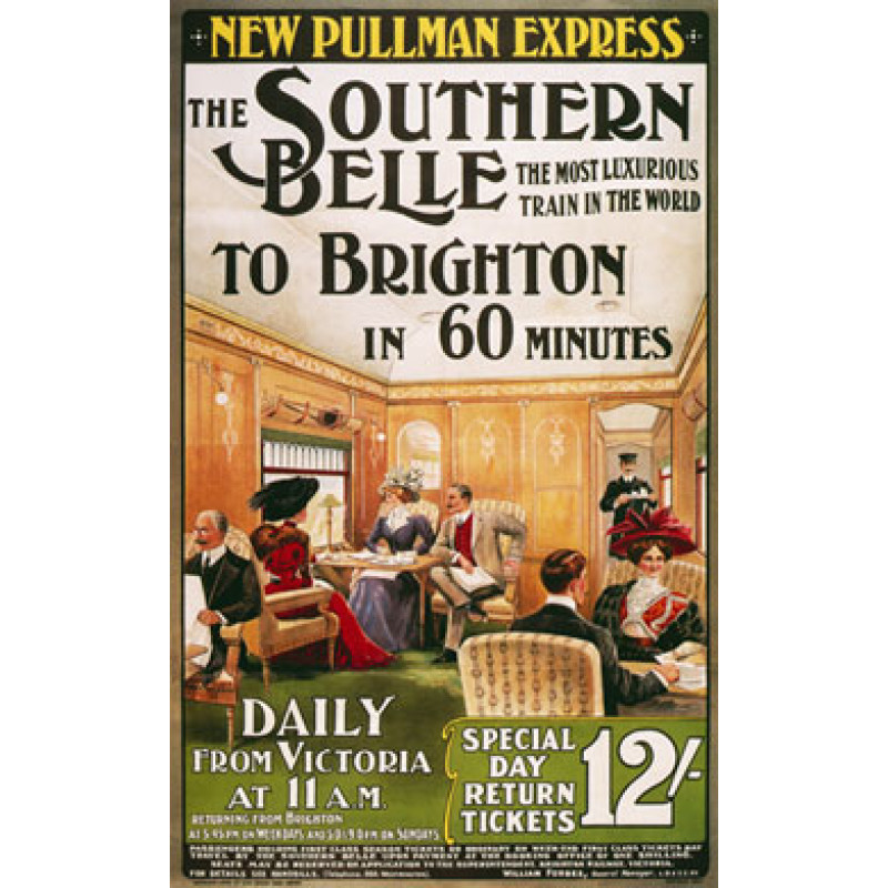 Southern Belle to Brighton, 1909