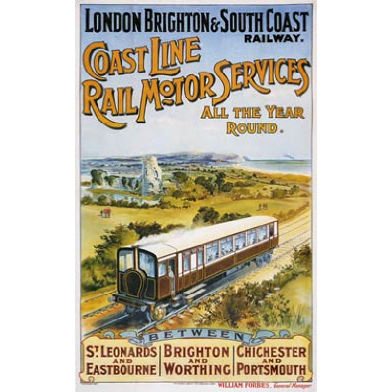 Coast Line Rail Motor Services, 1906