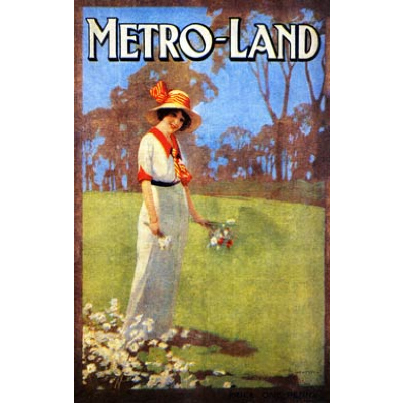 Metro-Land, London Underground, 1914