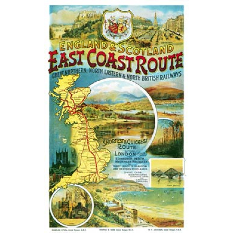 TRRY1080, The East Coast Route, 1900